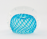 Small Light Blue Bubble Paperweight
