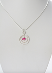 Small Pink Ring Pendant