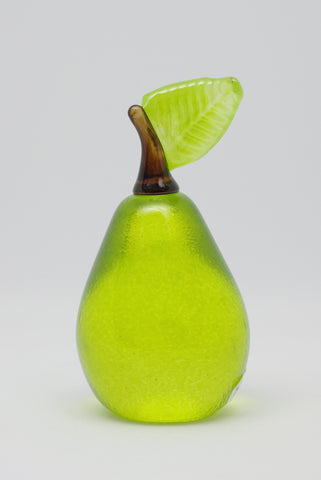 Pear Paperweight 2