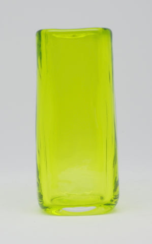 Small Lime Square Vase