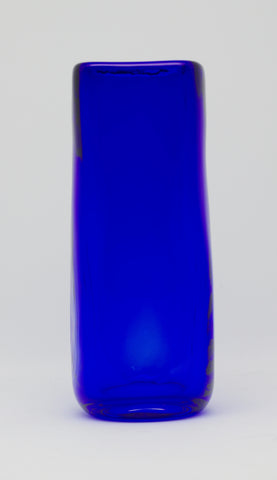 Medium Cobalt Square Vase