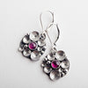 Scilla Pink Tourmaline Seascape Earrings