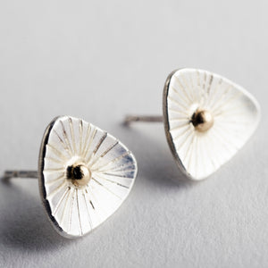 Lagos Starburst Studs in Silver & 14k Gold - Made to Order