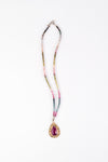 Osaka Pink Sapphire & Tourmaline Necklace, One of a Kind