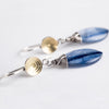 Elsa Kyanite Teardrop Dangle Earrings
