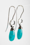 Lisbon Amazonite Dangles in Silver