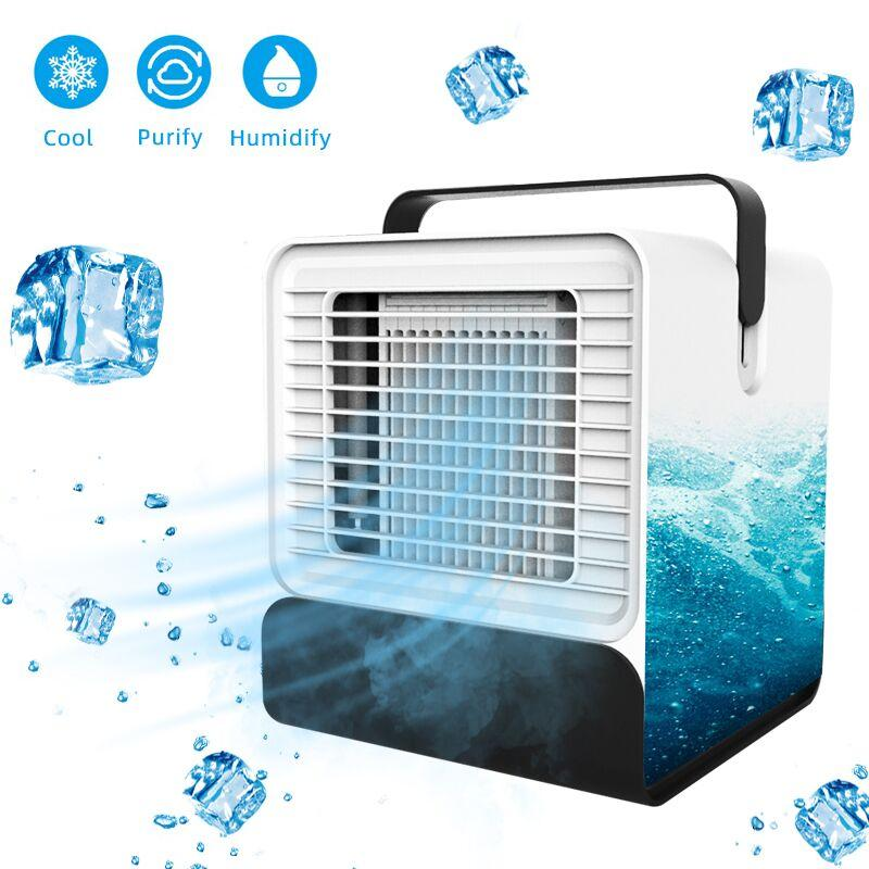 USB Mini Portable Air Conditioner and Humidifier