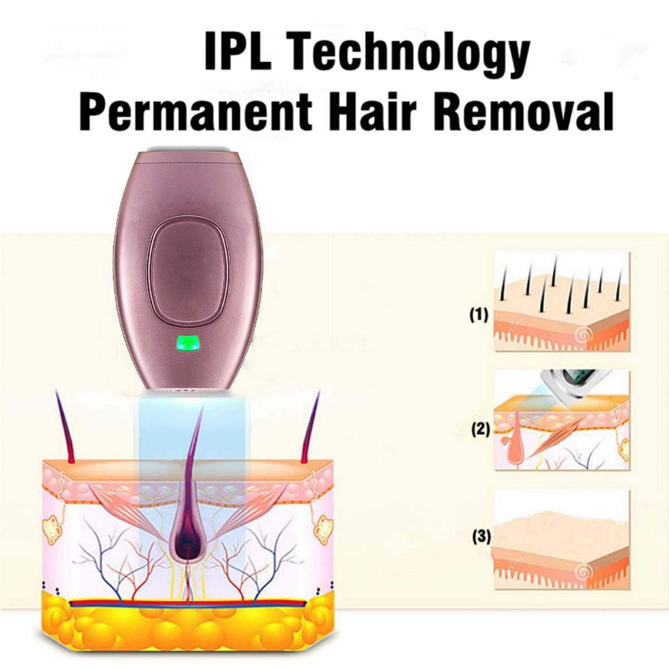 Portable Laser Hair Removal Device