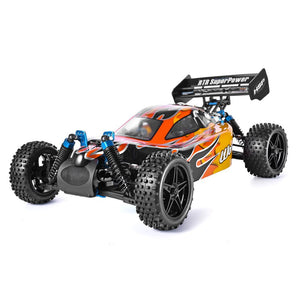 RC GAS POWERED NITRO 4X4 1:10 SCALE TWO SPEED OFF ROAD MONSTER
