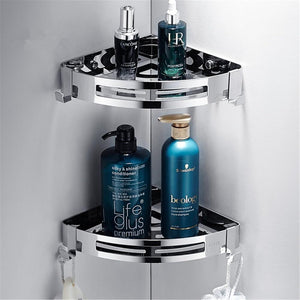Stainless Steel Corner Shower Shelf