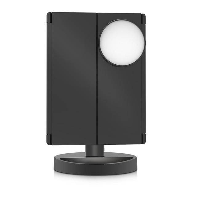 LED Light Touch Screen Makeup Mirror