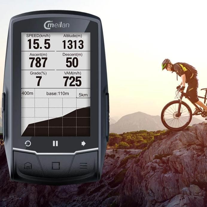 Smart Cyclometer with GPS Navigation