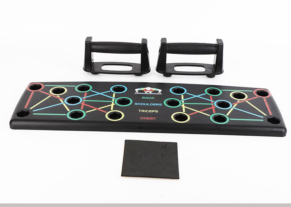9 in 1 Push Up Board ( FITNESS FROM HOME)
