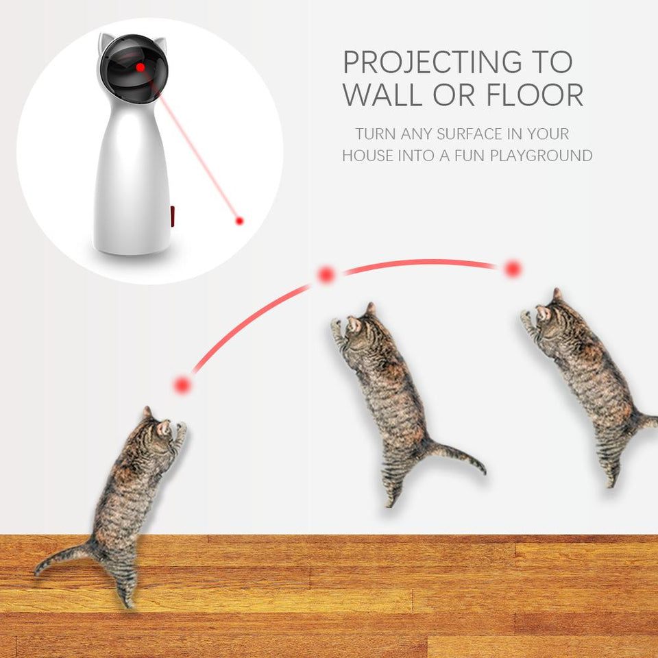 Automatic Cat Laser Teaser Toy