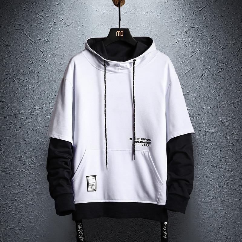 Pullover Hoodie Blk & Ylw