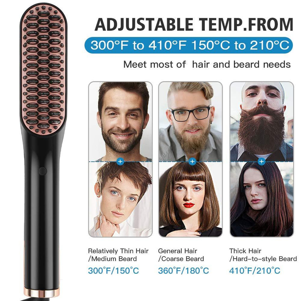 Beard Straightener Comb Hair Styler 2.0