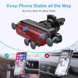 Auto Gravity Phone Holder