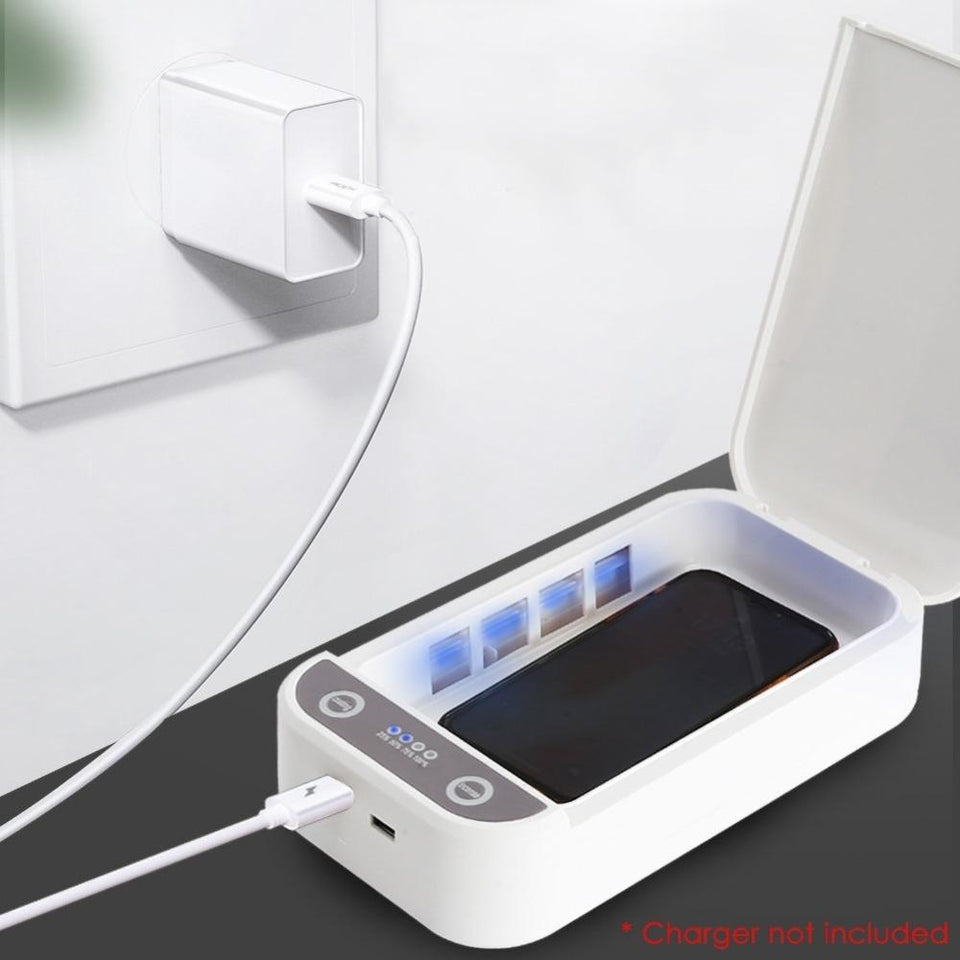 PHONE UV-C LIGHT SANITIZER SOAP - CELL PHONE CLEANER