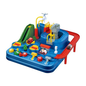 Puzzle Rail Car Play Station