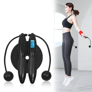 Smart Jump Rope Fitness Sport Skipping Ropes with Anti-Slip Hand Grip