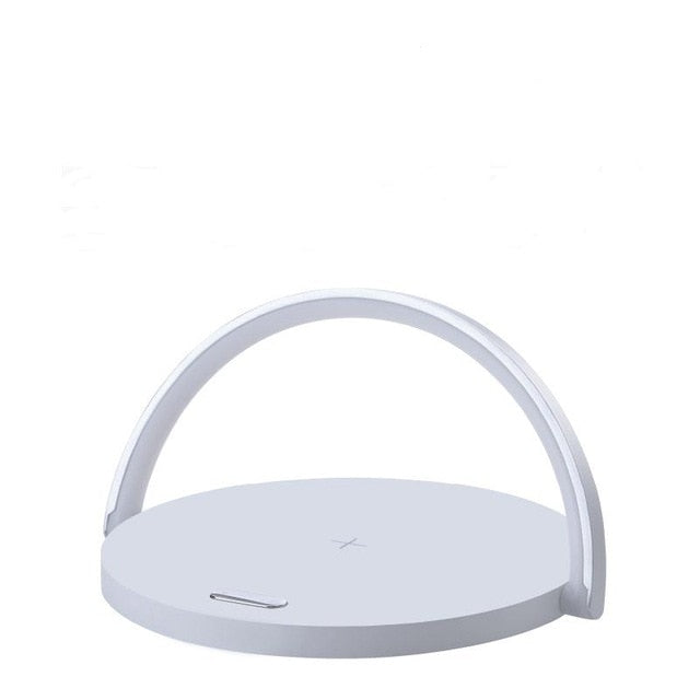 Qi Wireless Charger Table Lamp For iPhone X XR XS 11 PRO Max