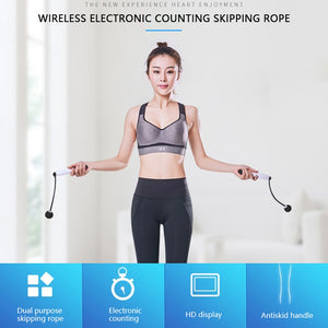 Jump Ropes Smart Electronic Digital Skip Rope