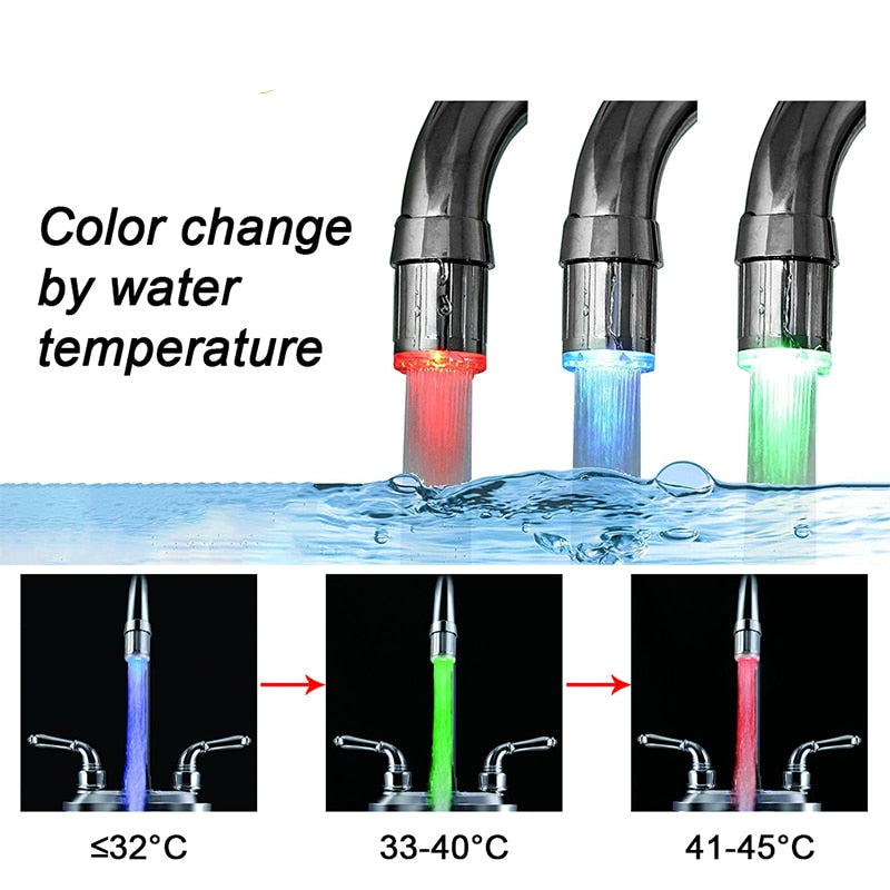 Water Faucet LED atmosphere lights