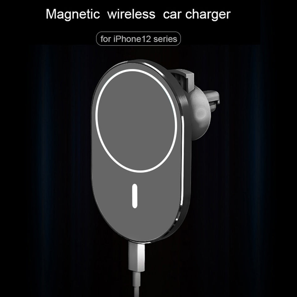 Magnetic Wireless Car Charger AirVent Mount