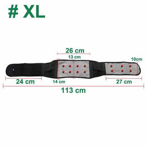Magnetic Therapy Back Waist Support Belt Lumbar Brace
