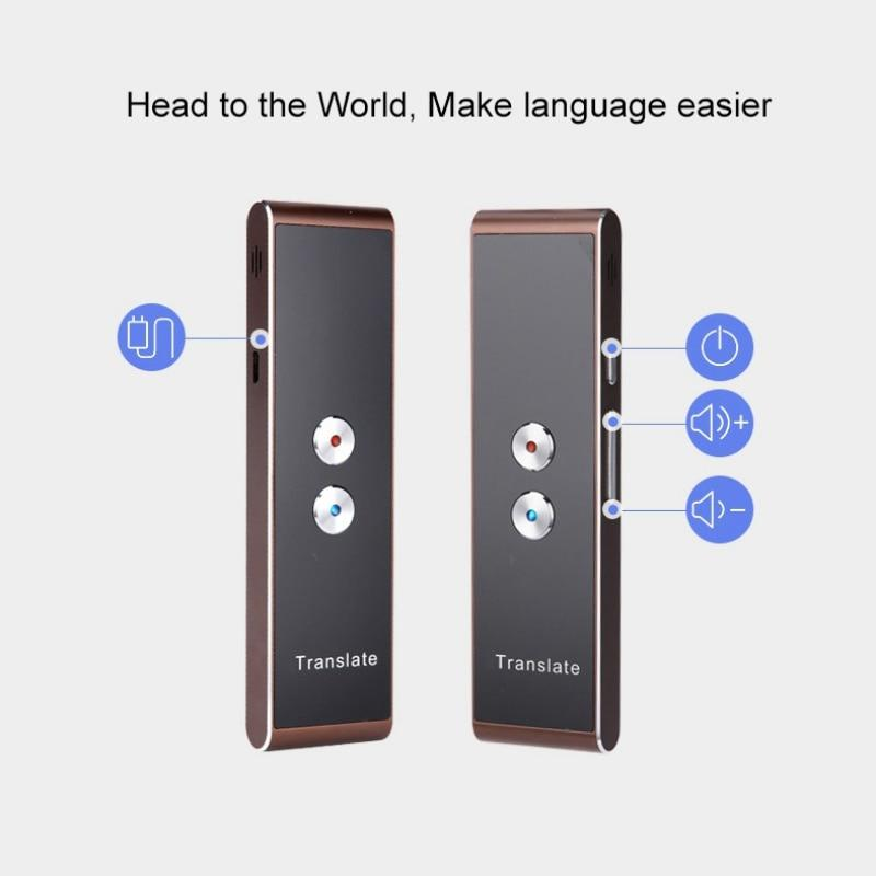 Portable T8 Smart Voice Speech Translator
