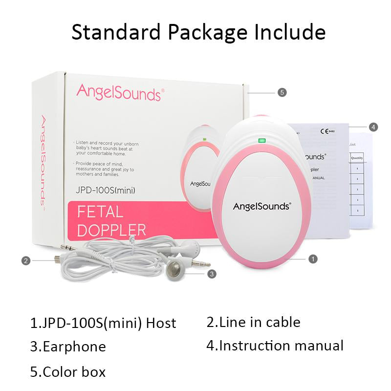Angelsounds - Portable Pocket Fetal Doppler