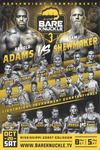 BKFC 3 Autographed Fight Poster - 11X17