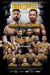 BKFC 11 Autographed Fight Poster - 24x36