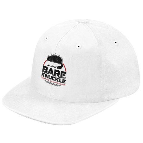 Circle Logo Premium 210 Fitted® Cap - White/Black/Red