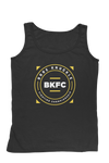 Squared Circle Logo Men's Tank - Black/Yellow