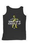 Shut Up & Knuckle Up Men's Tank - Black/Yellow