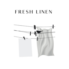 Fresh Linen Scented Candles & Reed Diffusers