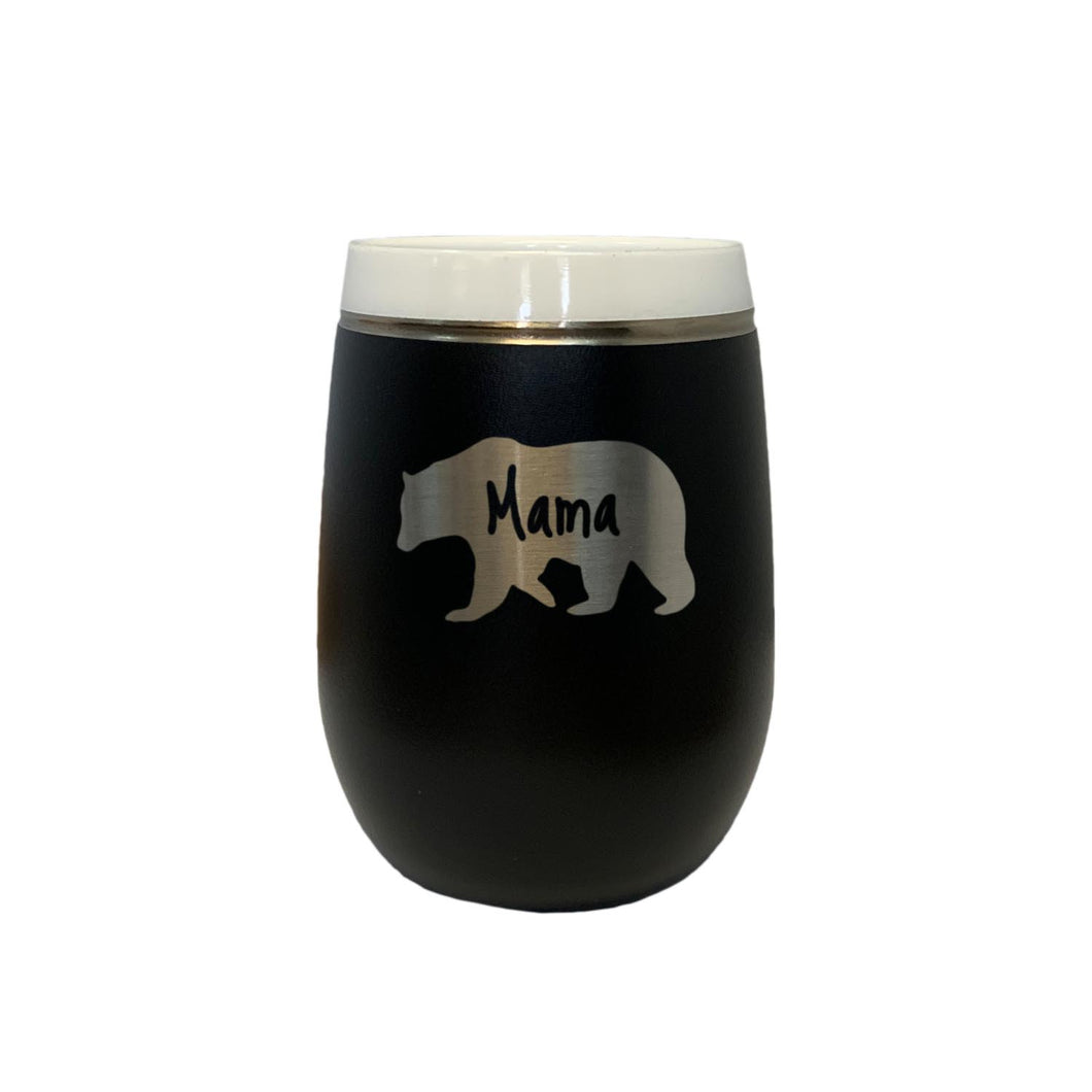 Mama Bear - 9 oz Wine Tumbler
