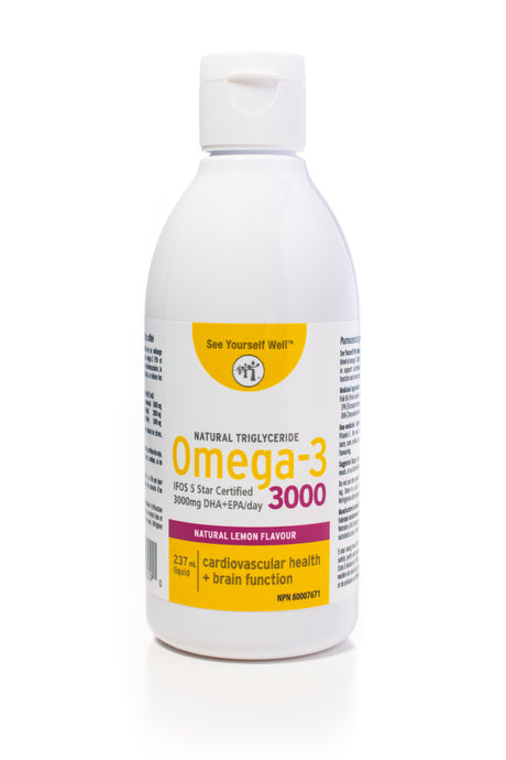 See Yourself Well Omega-3 3000 (Lemon, Mango)