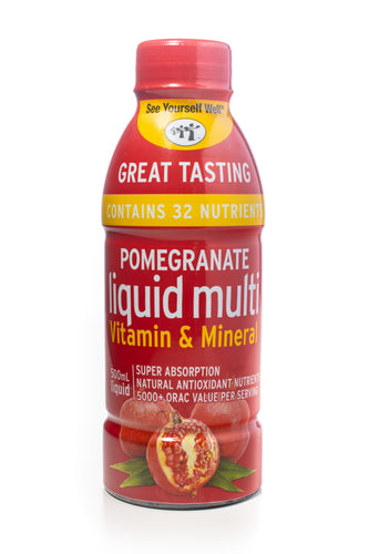 See Yourself Well Pomegranate Liquid Multi