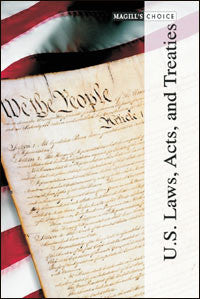 U.S. Laws, Acts, and Treaties