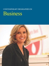 Contemporary Biographies in: Business