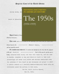 Defining Documents in American History: The 1950s