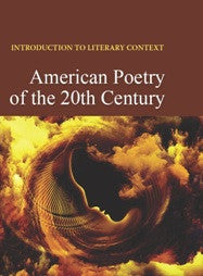 Introduction to Literary Context: American Poetry of the 20th Century