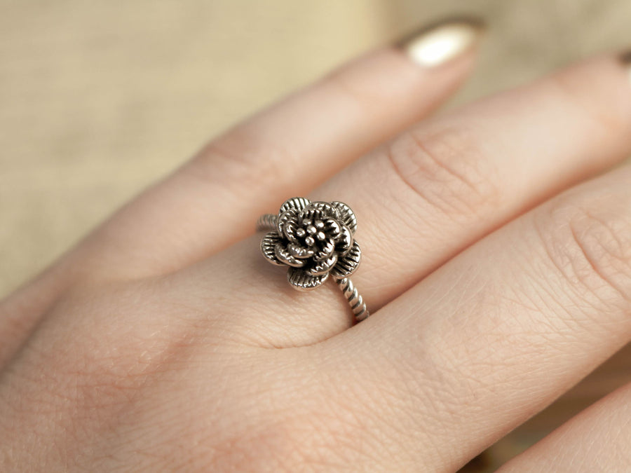 rose ring minimalist vintage