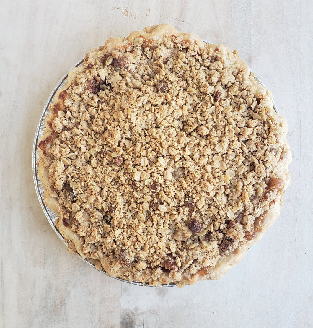 Holiday Pie, Apple Crumble