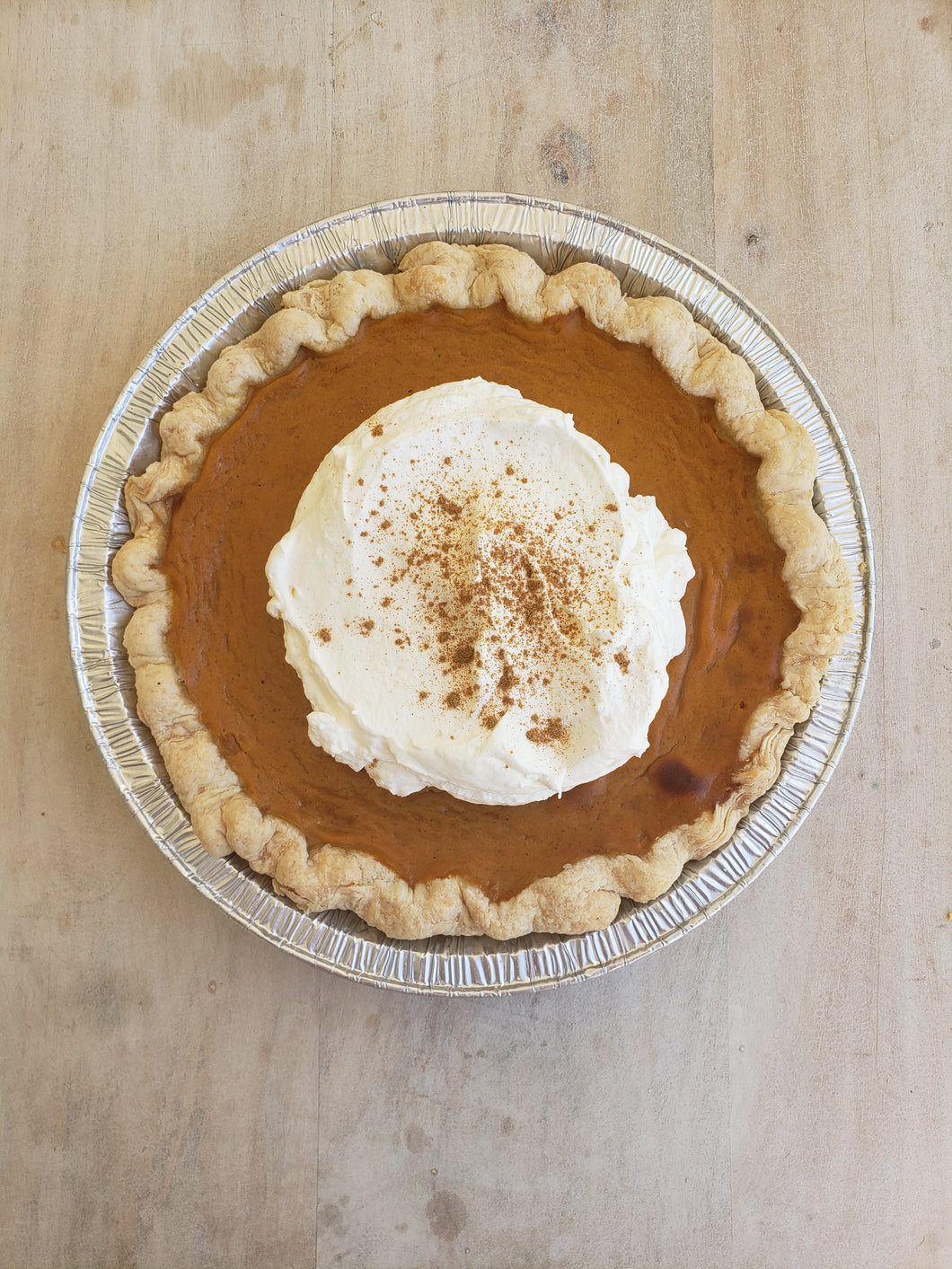 Holiday Pie, Spiced Pumpkin