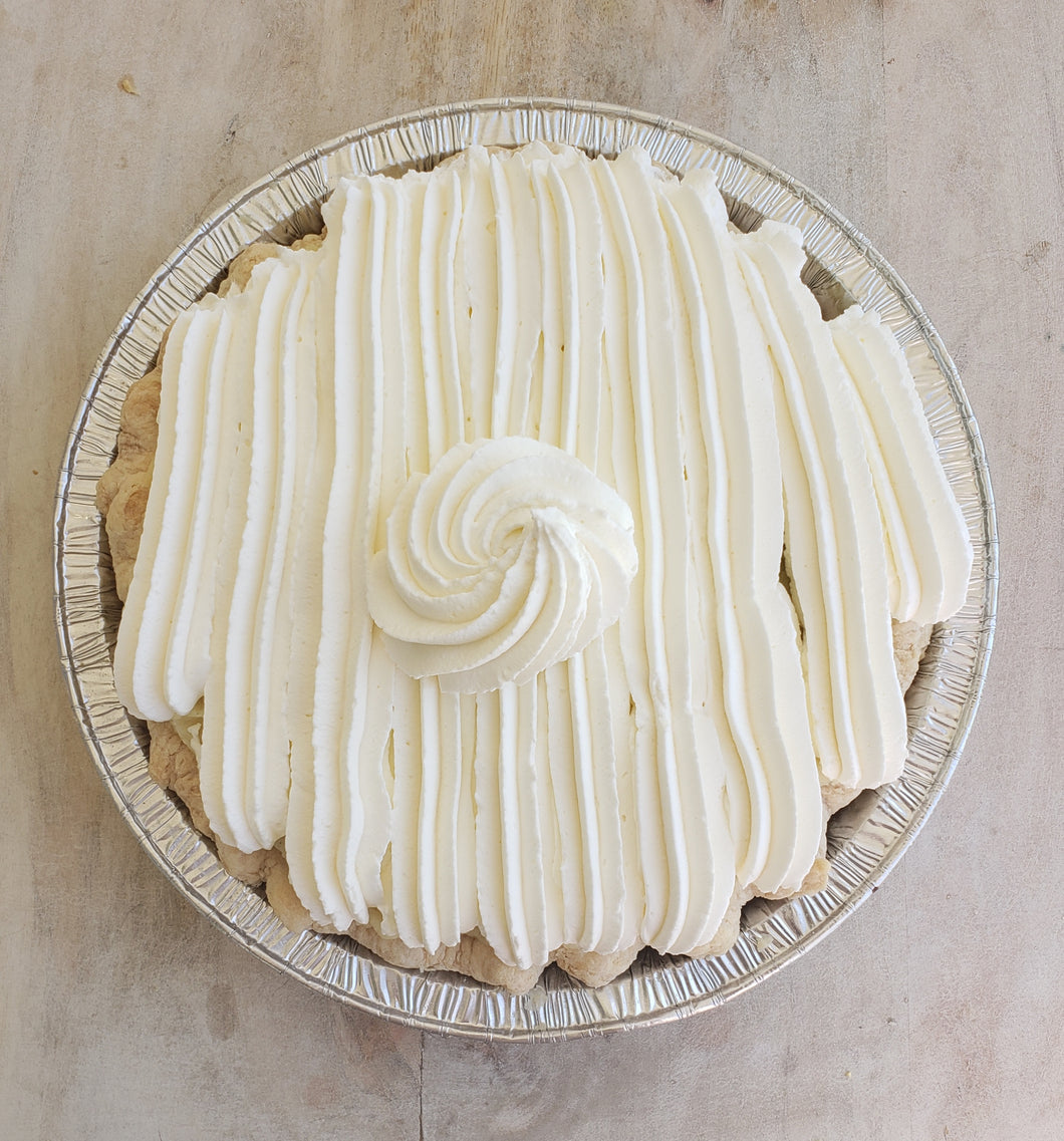 Holiday Pie, Banana Creme
