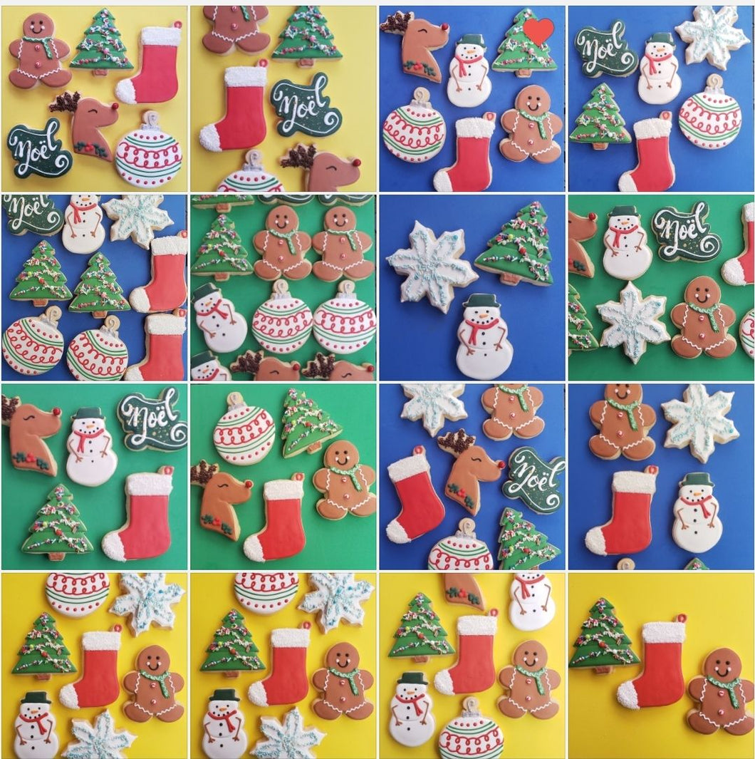 Christmas Decorated Shortbreads
