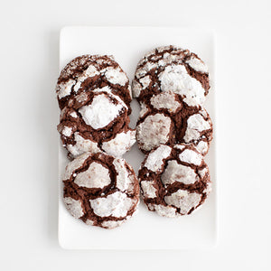 Cookies, Chocolate Crackle